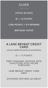 Special $15 off $50 1 w/ tcc welcome offer. Warning The Problem With The Lane Bryant Credit Card 2020