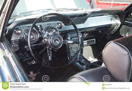 Classic Ford Mustang Interior Editorial Stock Image - Image of ...