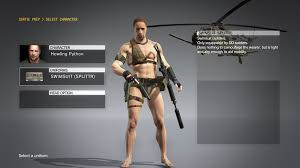 metal gear solid v the phantom pain receives swimwear uniforms to beat the heat