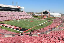 seat view for cardinal stadium section 214 row ff
