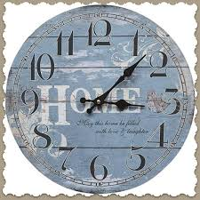 wall clock home cottage style