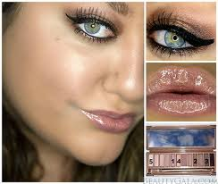 lashes for days makeup look tutorial using the urban decay 3 palette