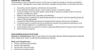 Teller Job Resumes Wells Fargo Teller Job Resume Excellent