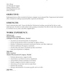 Good Resume Objectives Simple Resume Objectives For Receptionist Mycola