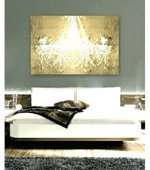 appealing chandelier canvas wall art dramatic on gold entrance night prints pink