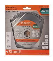 <b>Диск Sturm 9020</b>-<b>210</b>-<b>30</b>-48T <b>пильный</b> по дереву <b>210x30mm</b> 48 ...