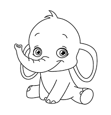 Cute Baby Zoo Animals Coloring Pages Thanhhoacarcom