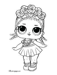 Coloring Pages Lol Dolls Coloring Pages For Everyone