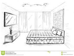 simple bedroom drawing. How To Draw Furniture Easy Perspective Drawing 12 Youtube Simple Bedroom C