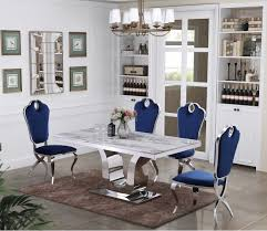 marble top dining table and velvet fabric chair 4 colors to choose return to previous page lightbox