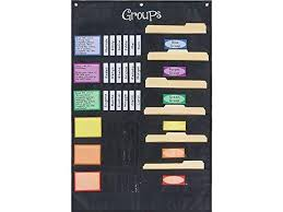 Really Good Stuff Pocket Chart Really Good Stuff Small Group Management Pocket Chart Keep Small Groups Organized And On Task Help Groups Run Independently Grommets And Magnetic