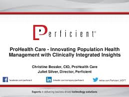 Learn How Prohealth Care Is Innovating Population Health