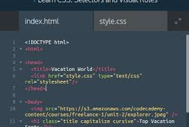 Just started and already stuck - CSS - Codecademy Forums