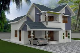 Small Picture 4BHK Stylish Kerala style low cost house