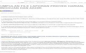 Prediksi cuaca untuk rencana pelaksanaan proyek via manajemenproyekindonesia.com. Dokumen Tips Contoh Laporan Proyek Konstruksi Baik Laporan Cute766