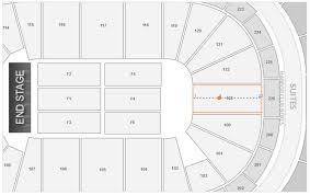 Verizon Center Seating Chart With Seat Numbers Keybank Center Detailed Seating Chart With Seat Numbers