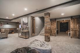 basement ideas. Rustic Finished Basement Ideas At Cute I