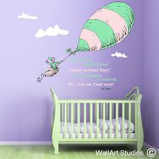 on dr seuss oh the places youll go wall art with oh the places you go wall vinyls wall art studios uk