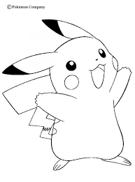 Pikachu Coloring Pages Beautiful Photos Pikachu Coloring Pages