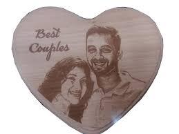 heart wood engraving w heart vijaya crystal arts personalized gifts at vijaya crystals