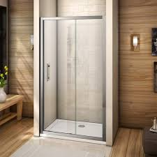 details about aica nano self clean safety tempered glass sliding shower enclosure door cubicle