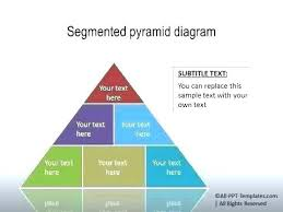 Blank Pyramid Diagram Pyramid Chart Template Word