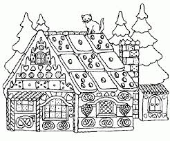 Small Picture Get This Online Gingerbread House Coloring Pages to Print aycRt
