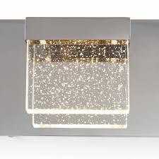 Artika Bubble Cube Light Bubble Cube 4 Light Led Vanity Light