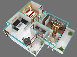 sqyrds 2bhk home design plans indian style 3d sqft west facing bhk