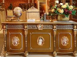 executive desk wooden classic. luxury french louis xv style golden classic office desk antique royal brass mounted executive wooden m