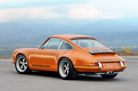 Rear 3/4 of Singer Porsche 911....Brought to you by agents at ...