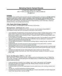 Resume Of Marketing Manager Mwb Online Co