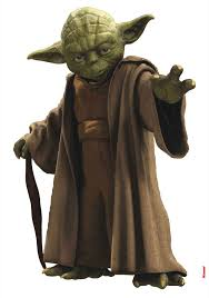 Wandsticker Star Wars Jedi Meister Yoda Tapetenwelt