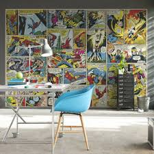 Marvel Comic Bedroom Design736552 Superhero Wallpaper For Bedroom 17 Best Ideas