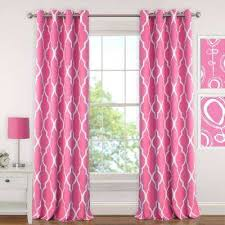 Curtains for picture window Window Panels Emery Kids Blackout Window Curtain The Home Depot Pink Curtains Drapes Window Treatments The Home Depot