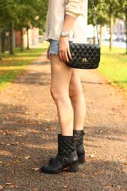 Quilted Biker Boots, Silk Blouse - THE STYLING DUTCHMAN. & clarks biker boots movie stage Adamdwight.com