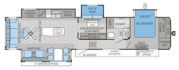 2016 north point 377rlbh floorplan