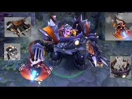 dota 2 timbersaw mix set immortal controlled burn utter