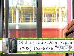 patio sliding door repair the grand