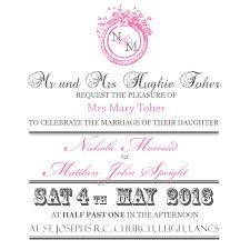 formal mrs stationery formal invite