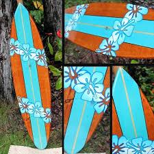 decorative surfboards wooden australia hawaii california