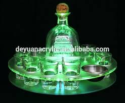shot glass holder acrylic wine glass tray holder led acrylic shot glass tray metal palm tree