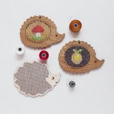 ежики – деревянные основы для <b>вышивания</b> | Ткачество бисером ...