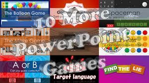 10 More Powerpoint Games Tekhnologic