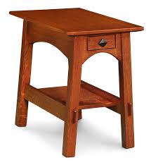 solid wood mccoy chair side table by simply amish at creative classics furniture in alexandria va