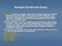 Sample Of Synthesis Essay Sample Synthesis Essay Ppt Video Online Download