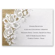 wedding reception card lacy dream reception card invitations by dawn