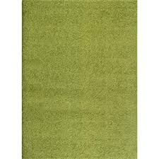 world rug gallery soft cozy solid green 8 ft x 10 ft indoor