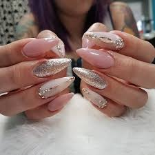 Gel Nail Designs With Diamonds Nail Art Designs 2017 Summer Stiletto Pink Acrylic