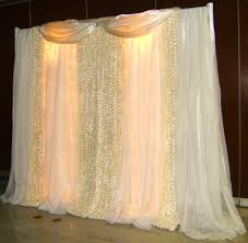 Tulle Fabric Wedding Decorations Diy Wedding Backdrops Ideas This Backdrop Is Designed With